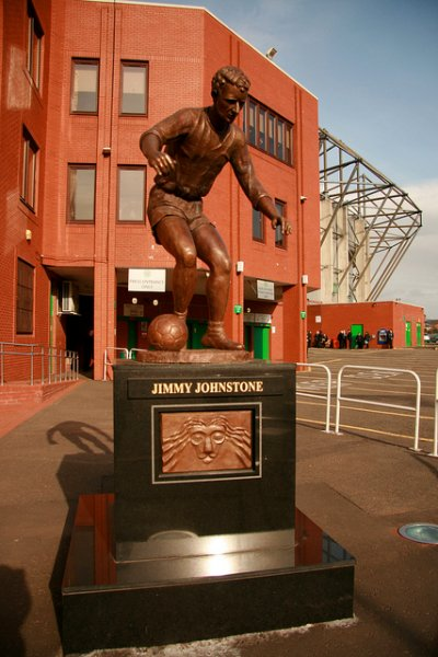 The sporting statues project jimmy johnstone glasgow for A t the salon johnstone