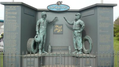 The Sporting Statues Project The Senna And Fangio